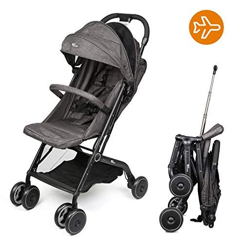 Amzdeal Airplane Lightweight Stroller Portable Travel