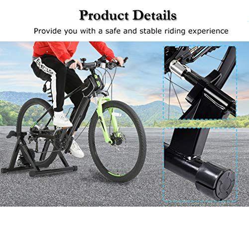 Bestmassage Bike Trainer Stand Bicycle Trainers Road Bike Trainer