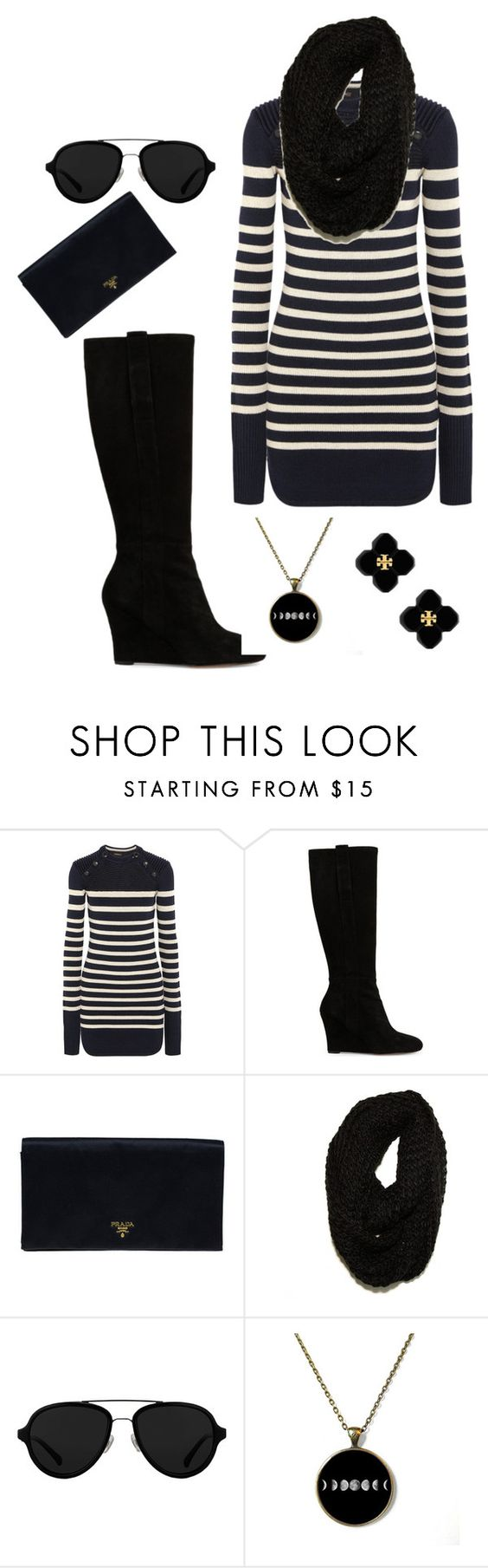 """""""Untitled #541"""" by peach-princess ❤ liked on Polyvore featuring Isabel Marant, Nine West, Prada, Paula Bianco, 3.1 Phillip Lim and Tory Burch"""