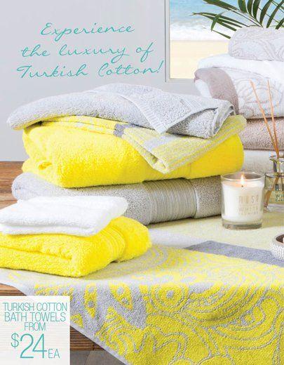 Tukish Cotton Towels
