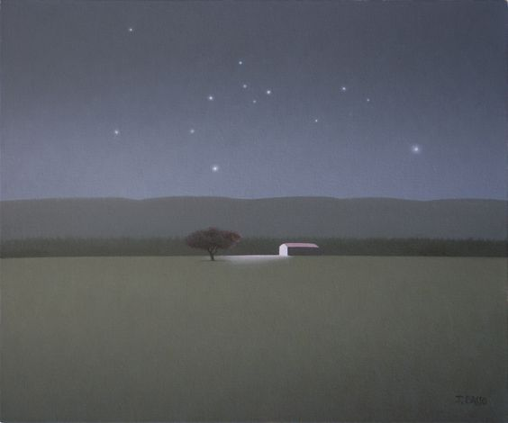 Horizontes (Horizons) painting by Jose Basso ✶✶✶