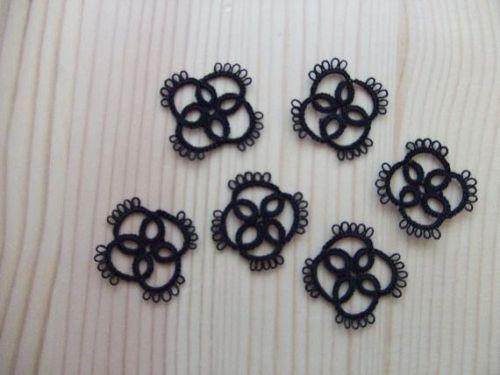 タティングレース*小さなモチーフ*a*の作り方|編み物|編み物・手芸・ソーイング | アトリエ|手芸レシピ16,000件!みんなで作る手芸やハンドメイド作品、雑貨の作り方ポータル