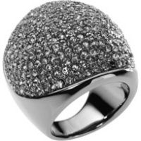 Pave Dome Ring, Hematite Colored  Michael Kors