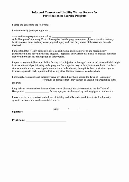 Participation Waiver Form Template from i.pinimg.com