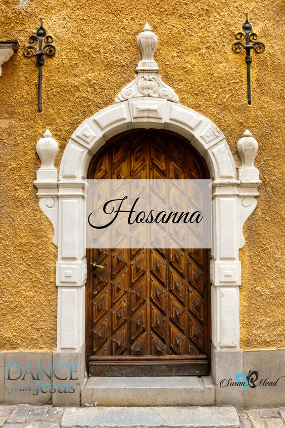 The beautiful word Hosanna, save us, we pray! echoes through the Gospels as Jesus enters Jerusalem one final time. Join us as we explore this magnificent word.
