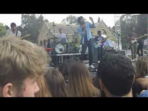 Young the Giant, Golden Gate Park - San Francisco June 2012