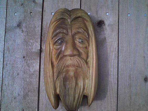 Gandalf  Lord of The Rings wood carving   by AdventurousCarver, $55.00