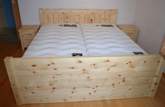 Zirbenholz bett zirbenbett pinterest for Bett zirbenholz