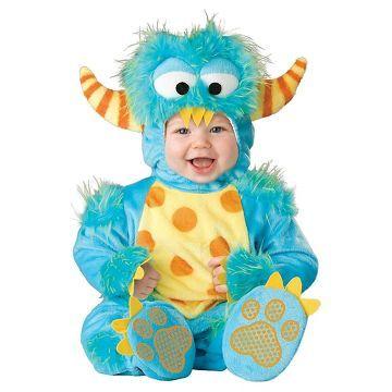Lil Monster Baby Toddler Costume Blue