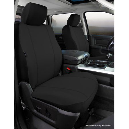 Fia SP87-7 GRAY Custom Fit Front Seat Cover Bench Seat Poly-Cotton, Gray