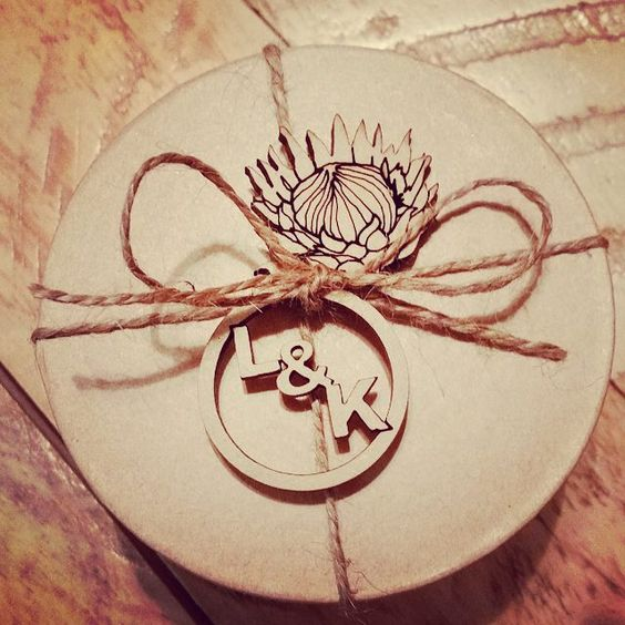 Personalise your Guest favors by adding something special