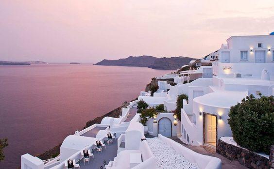 Santorini, Greece.. one day!
