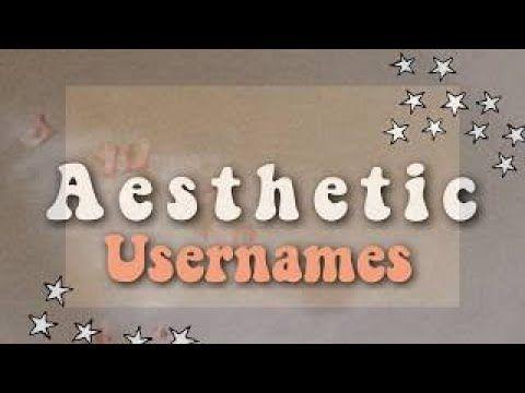 Aesthetic Youtube Names Youtube Aesthetic Usernames Aesthetic Names Youtube Names