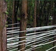 ascention (2005) .  Oawayama Sculpturepark, Kamiyama (Japan)