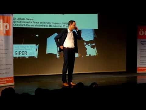 Dr. Daniele Ganser Vortrag bei der ÖDP München - Energie, Krieg & Frieden