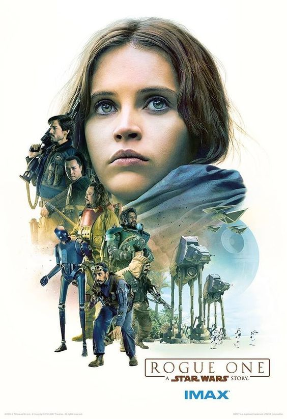 Rogue One A Star wars Story Hi-Res Movie Poster Imax Jyn Erso