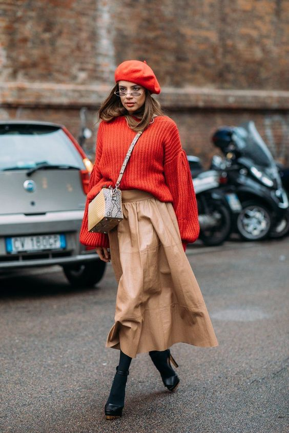 "These Milan Fashion Week Street Style Moments Will Have You Saying, ""What Runway?"" Image Source: Style Du Monde #fashioninspo"