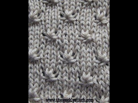 Knitting Stitch Knot : Stitches, Knots and Youtube on Pinterest