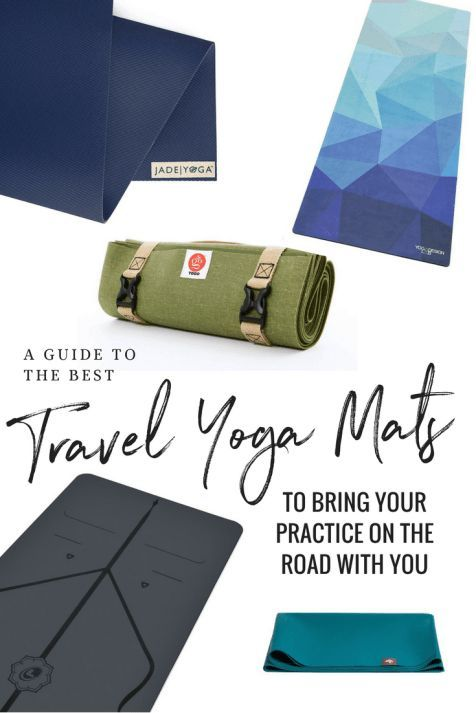 The Best Travel Yoga Mat 2020 6 Compact Lightweight Affordable Travel Mats Travel Yoga Mat Traveling By Yourself Packing List For Travel