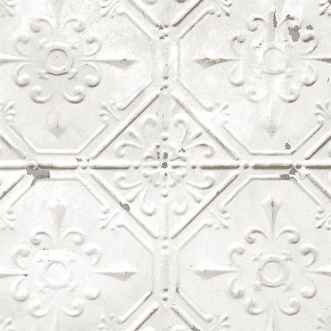 Nuw2086 Vintage Tin Tile Peel And Stick Vintage Tin Tiles Tin Tiles Metal Tile