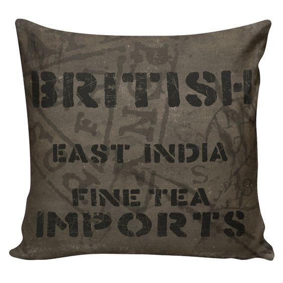 Industrial Cargo Pillow Vintage Pillow Cover by ElliottHeathDesigns