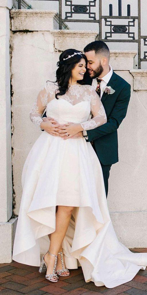 24 Graceful Plus Size Wedding Dresses | Plus wedding dresses ...