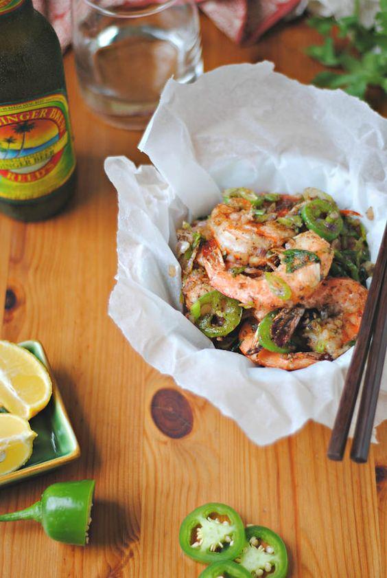 how to make salt and pepper fried shrimp