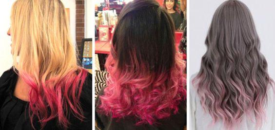 inspiração_cabelo_cor de rosa_mechas rosa_californiana colorida3