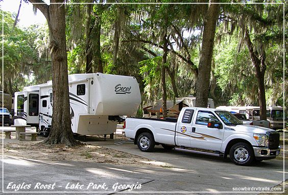 Camping at Eagles Roost RV Resort