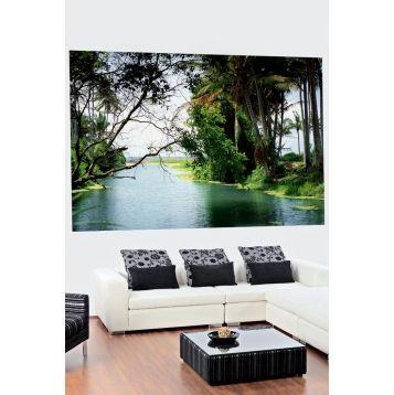Image murale paysages grand format cours d 39 eau 10 90 for Decoration interieur cours