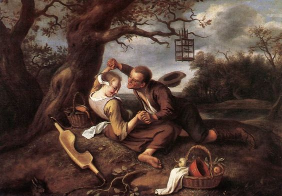 Jan Steen Merry couple
