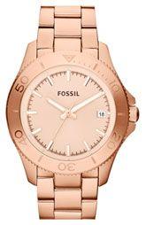 Fossil 'Retro Traveler' Bracelet Watch