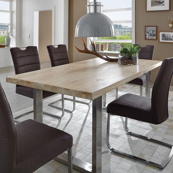 Tisch Esstisch Esszimmer Mobel Massiv Elkenroth Wirges Sofa