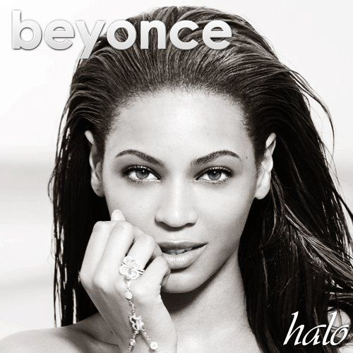 Beyoncé – Halo (single cover art)