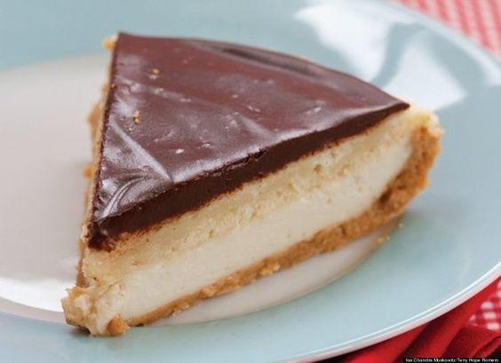 Boston Cream cake Pie    Chilled Pie Recipes: 12 Delicious No-Bake Desserts (PHOTOS)