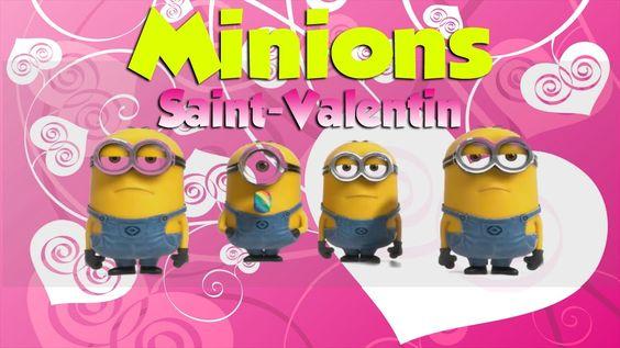 Minions - Saint Valentin