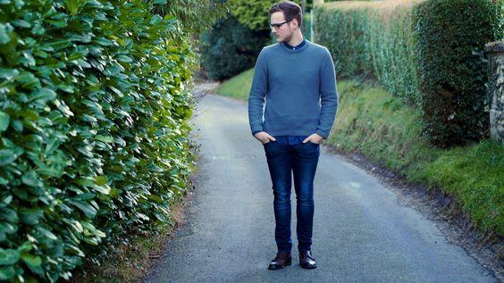 Overdressed Underprepared | Dark slim jeans #DarkDenim