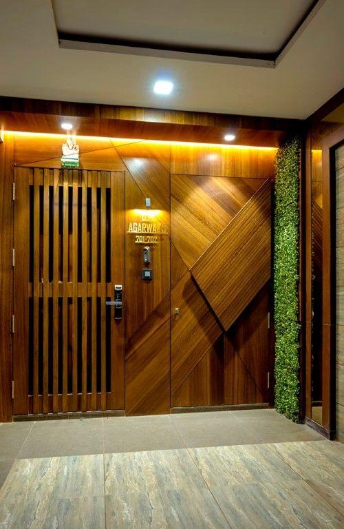 The Sailor House Mid Century And Contemporary House One Plus 1 Studio The Architects Diary Door Design Interior Door Design Modern Main Door Design Contemporary house door design