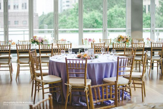 Foundation for the Carolinas Wedding: Liz + Max » come+together events.  Chairs, cushions, and 5 ft rounds that we will use.