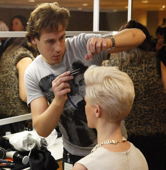 Fantastic Coiffures Pixie Back View And Group On Pinterest Short Hairstyles Gunalazisus