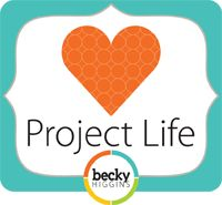 Project life .... Documenting the year week by week.  So cute - if you have time!