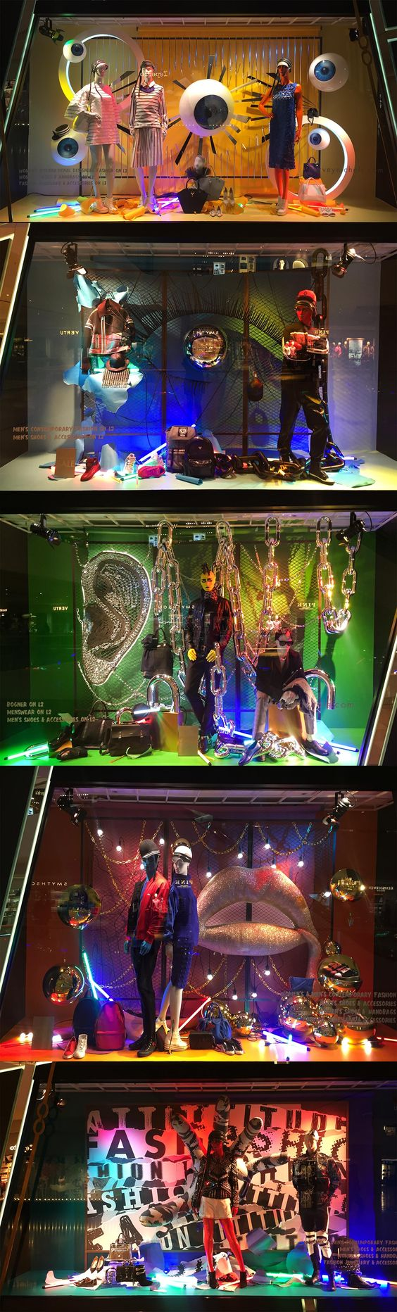 Harvey Nichols 2016 Spring Window - HK