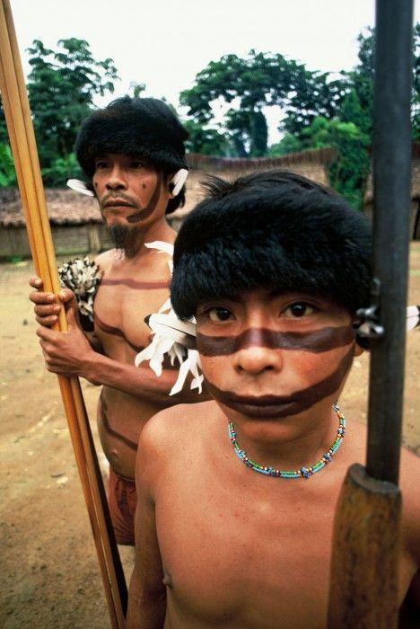 Etnia Yanomami. Venezuela.