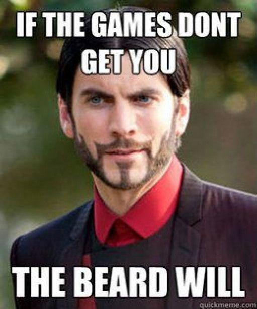 Hunger Games Seneca Crane I Love His Beard Teensmovies Not Another Teens Movies