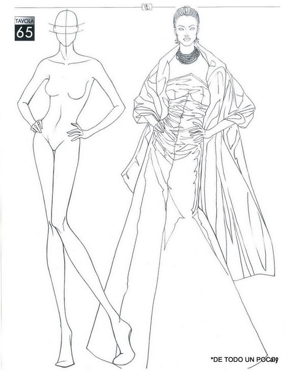 Estremamente IL FIGURINO DI MODA book | Fashion illustrations | Pinterest  DB96