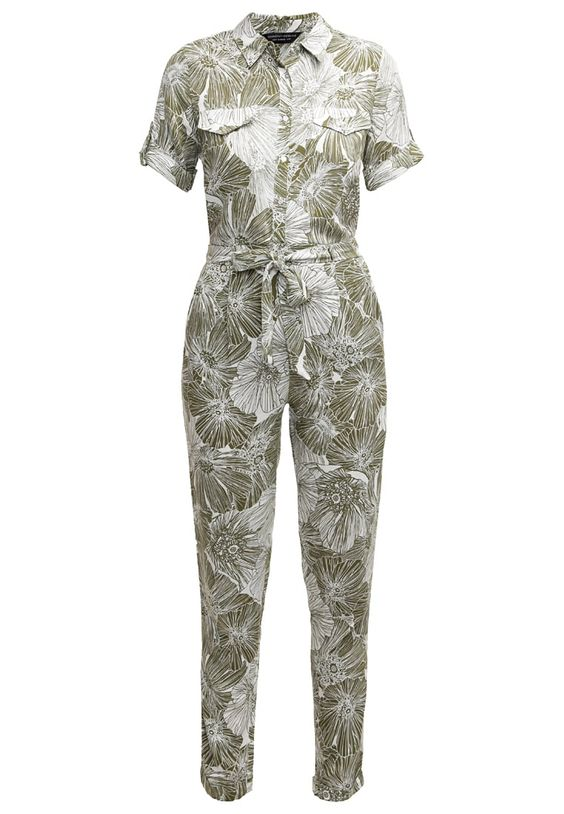 Dorothy Perkins Jumpsuit - light green - Zalando.nl