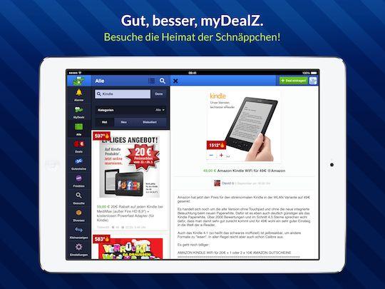 Die neue myDealZ App (iOS) ist da und jetzt auch endlich fürs iPad - außerdem ein iPad Mini 2 Gewinnspiel - myDealZ.de