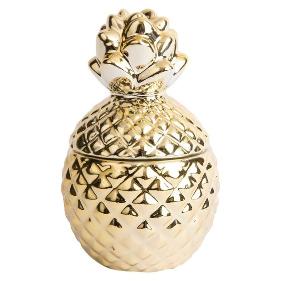 Target Gold Pineapple Candle