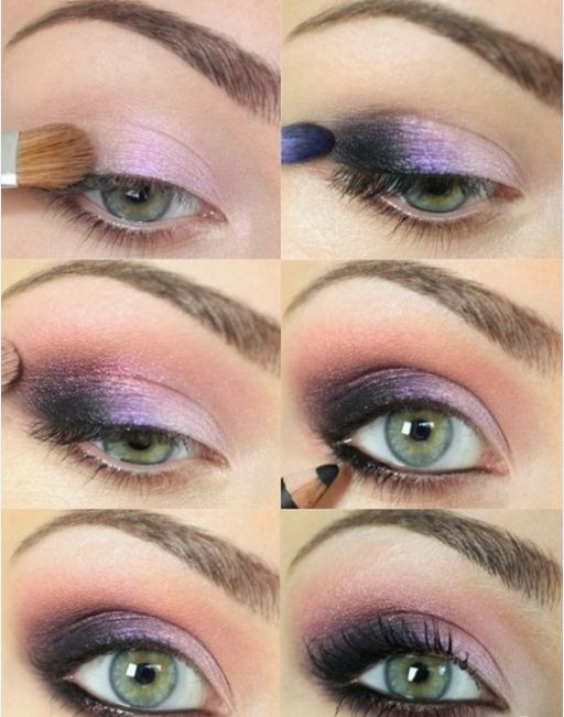 12 Amazing Makeup Tutorials For Green Eyes - Pretty Designs