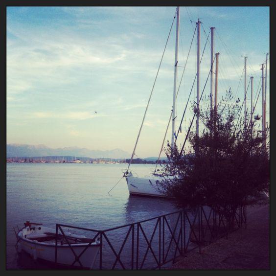 Port of Preveza city, Greece